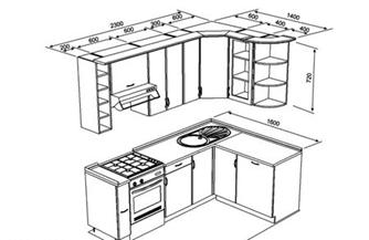 Проектирование кухонной мебели проект