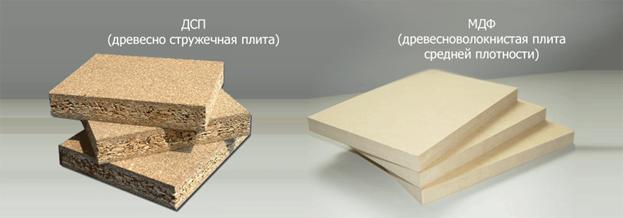 МДФ и ЛДСП: обзор и сравнение материалов