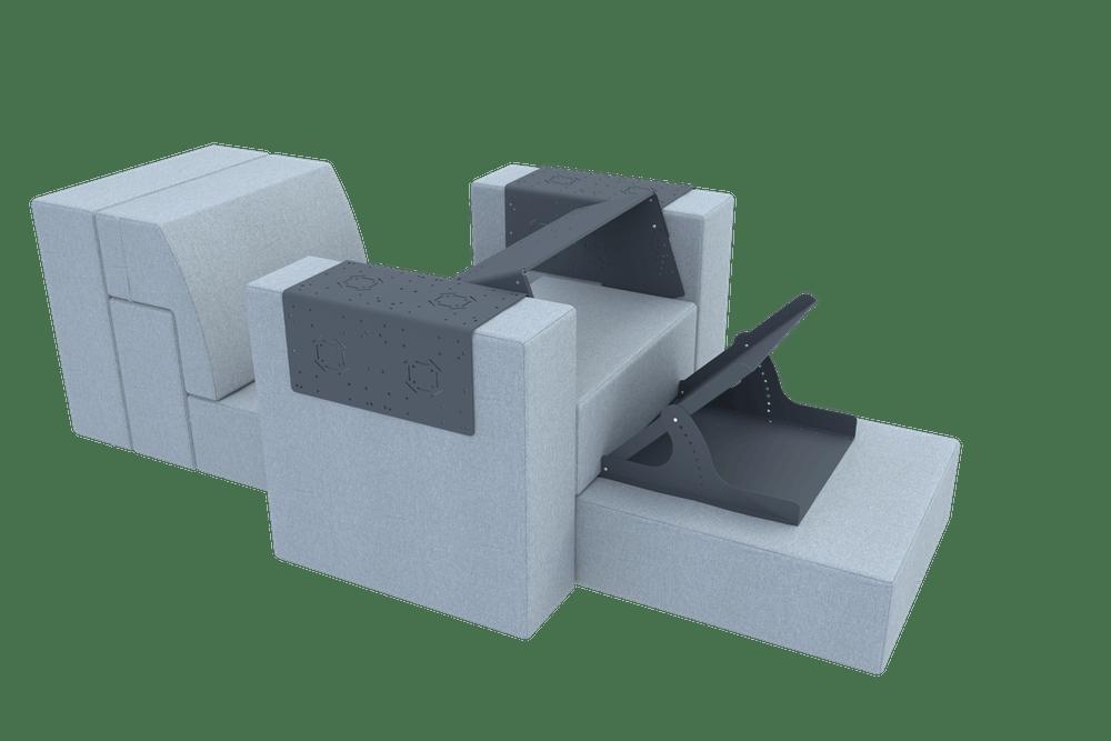 Чудеса трансформации мобильной модульной мягкой мебели
