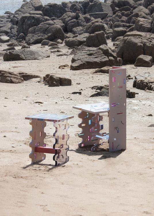 Две сеульские студии – HATTERN и LAB.CRETE, проект Pinion, акриловое стекло и бетон,