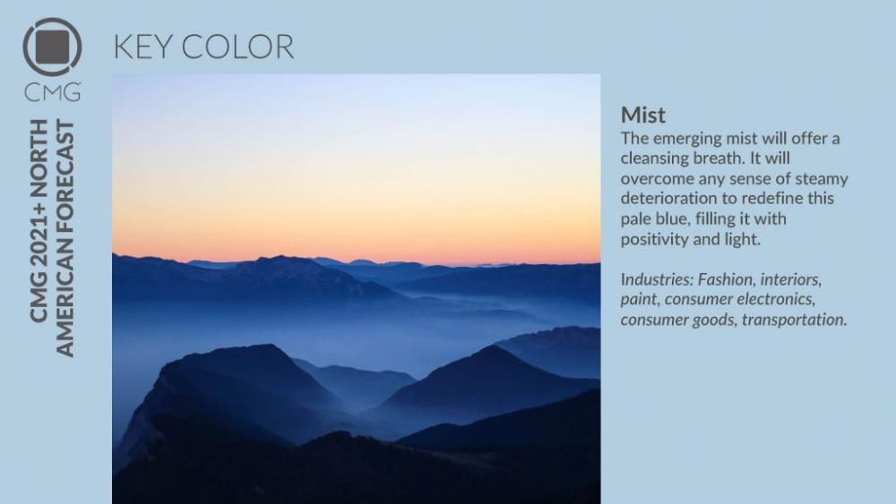 Главный цвет года 2020, Универсальный синий, Color Marketing Group (CMG)